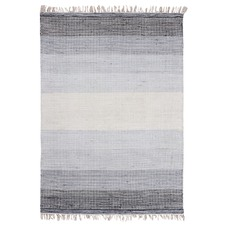 Charcoal Ombre Hand-Woven Wool Rug