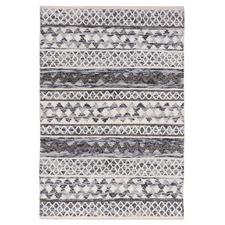 Ivory Omen Hand-Woven Wool Rug