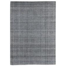 Grey Laurel Hand Tufted Wool Rug