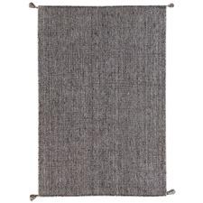 Grey Arma Hand-Woven Wool-Blend Rug