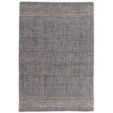 Grey Rio Hand-Woven Jute & Cotton Rug