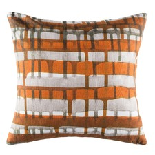 Webster Rust Square Cushion
