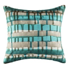 Webster Teal Square Cushion