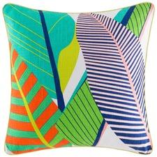 Tropical Multi Bright Square Cushion Cover