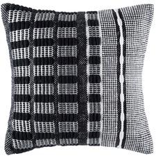 Jacobson Black Square Cushion Cover