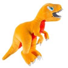 T-Rex Plush Orange Toy