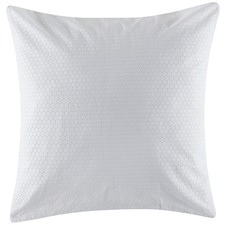 Sian White Euro Pillowcase