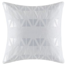 Zuma White Euro Pillowcase