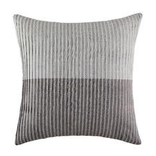 Pleated Grey Euro Pillowcase