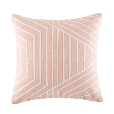 Ralph Blush Square Cushion