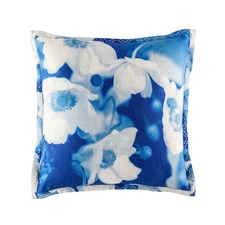 Melenie Blue Square Cushion