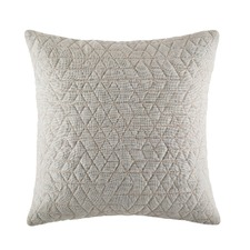 Quilty Grey Square Cushion