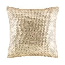 Sasha Gold Square Cushion