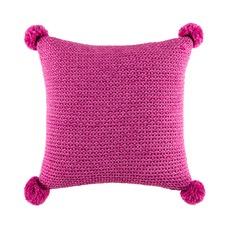 Anton Pom Raspberry Square Cushion