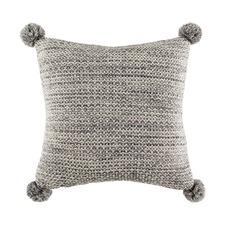 Anton Pom Charcoal Square Cushion