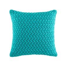 Bakka Teal Square Cushion