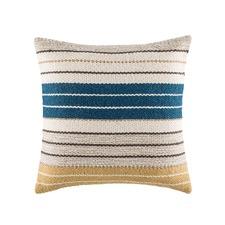 Jackie Navy Square Cushion