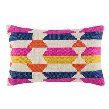 Phase Pink Rectangle Cushion