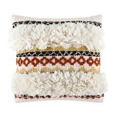 Zetta Rust Square Cushion