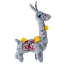 Izzie Alpaca Crochet Toy