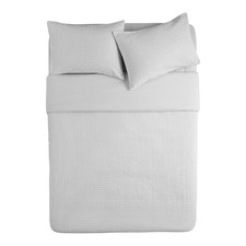 White Marlow Quilt Cover Set