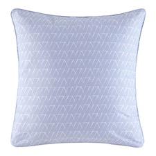 Blue Aiden Euro Pillowcase