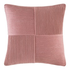 Blush Harkness Square Cushion