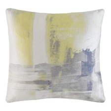 Yellow Merge Square Cushion