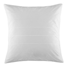 White Derby Euro Pillowcase