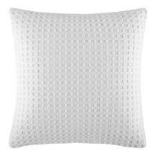 White Poppi Euro Pillowcase