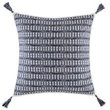 Black Oxhaca Cotton Euro Pillowcase