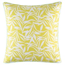 Chetna Chartreuse Cotton Euro Pillowcase