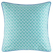 Teal Janina Cotton Euro Pillowcase