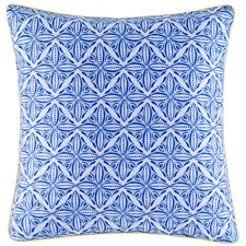 Blue Zapari Cotton Euro Pillowcase