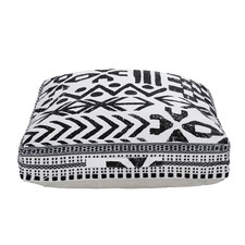 Black & White Tribeca Floor Cushion