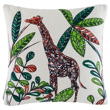 Giselle Giraffe Cotton Cushion