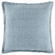 Sage Tailored Linen Cushion