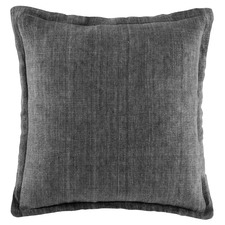 Grey Tailored Linen Cushion