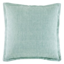 Mint Tailored Linen Cushion