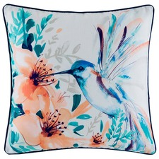 Tahlah Hummingbird Watercolour Cushion