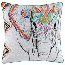 Square Ekeni Cotton Cushion