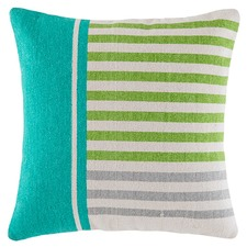 Vacation Colour Blocked Cotton Cushion