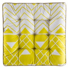 Yellow Outdoor Perry Futon Cushion