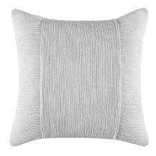 Silver Tuxedo Square Cushion