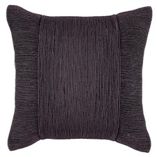 Charcoal Tuxedo Square Cushion