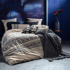 Vitta Embroidered Quilt Cover Set