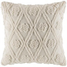 Ivory Zagora Cotton Euro Pillowcase