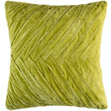 Herringbone Velvet Cushion