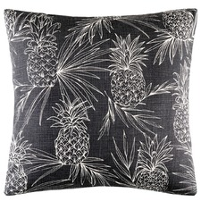 Charcoal Colada Cotton Cushion