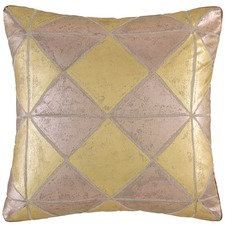 Gold Simmi Cotton Cushion